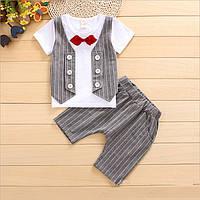 Набор детский шорты и футболочка летние для мальчика.