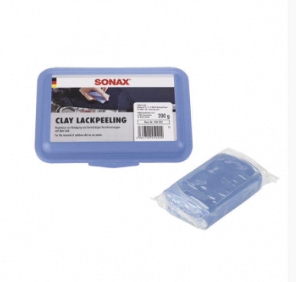 Шлифующая полировочная глина Sonax, 200 грамм