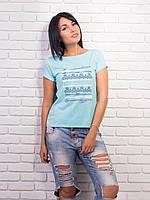 Женская модная футболка с пуговицами на спине