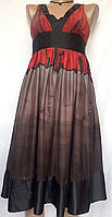 Платье женское из натурального шелка ZARA размер XS/S