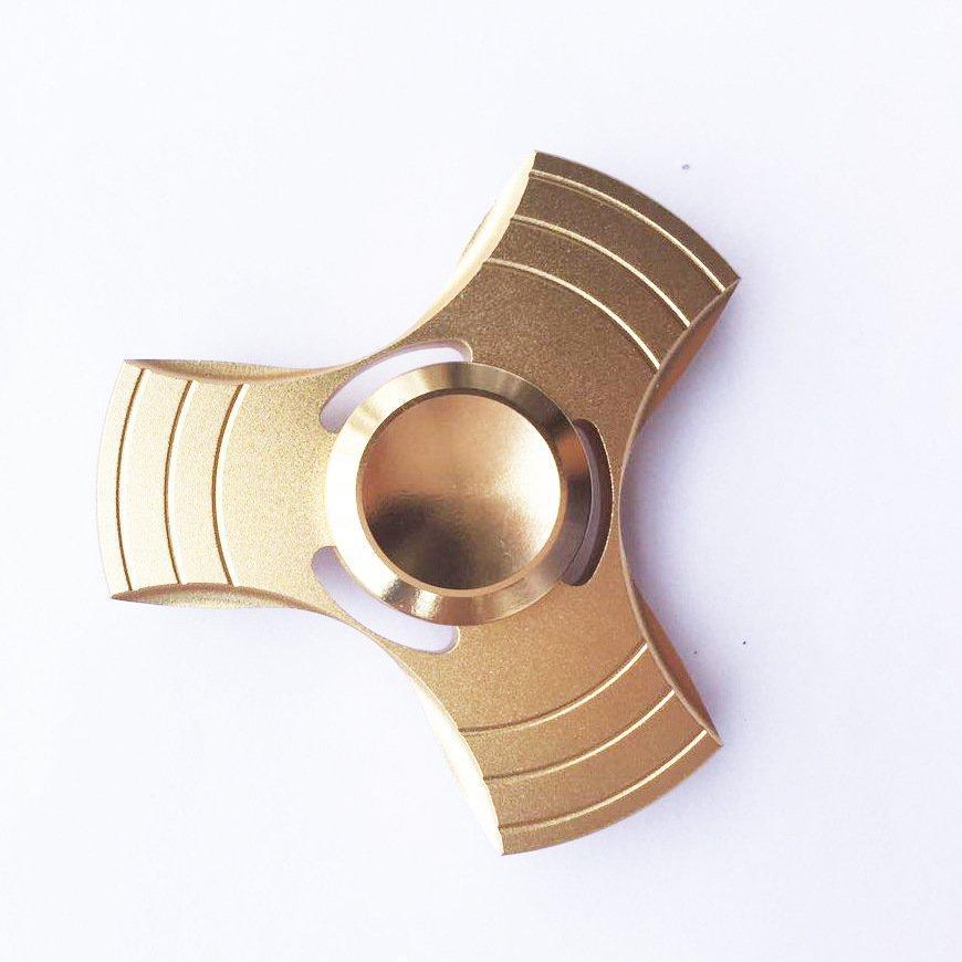 Спиннер вертушка Hand Spinner Stargate gold