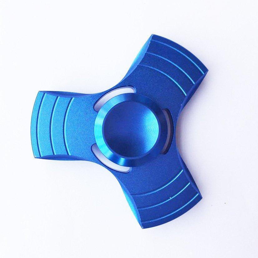 Спиннер вертушка Hand Spinner Stargate blue