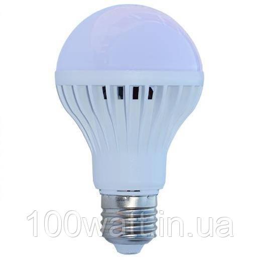Лампа светодиодная LED E27 6500K 7W матовая ST300