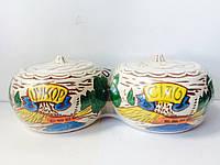 Набор банок для сыпучих керамика