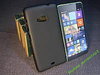 Чехол силиконовый Бампер Microsoft Lumia 535 (Nokia) черный