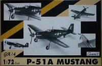P-51A MUSTANG 1/72 GarteX 69004