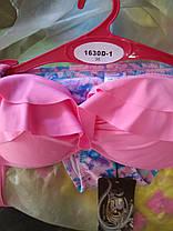 Купальник 1630-D1 Рюши с Большим пуш-апом розовый,идет на наши 44,46 размеры. , фото 3