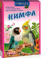Корм для средних попугаев Нимфа 500 гр Природа