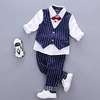 Комплект детский рубашка с жилеткой и штаны для мальчика
