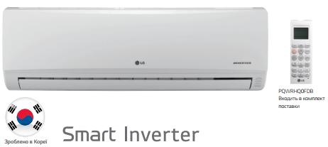 Внутренний блок настенного типа мультисплит-системы LG MS24SQ