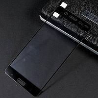 Закаленное защитное 3D стекло (на весь экран) для Nokia 6 (Черное)