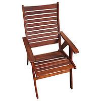 Садовое кресло из дерева мербау Классик