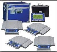 Весы подкладные автомобильные Intercomp PT300 18004-RFX Одинарные колеса, комплект из 4-х платформ