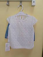 Нарядный комплект с шортами для девочки от 1 до 5 лет