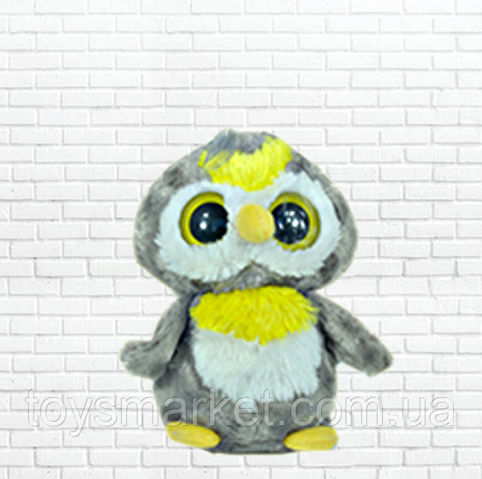 Детская мягкая игрушка чудо зверек, сова