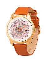 Часы наручные AndyWatch Листочки на золотом арт. AW 108-4