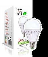 "LED лампа ""SunLed"" Е14 Standart 6Вт (аналог 50Вт)"