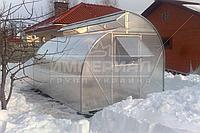 Арочная теплица Миттлайдера (Алюминиевый Каркас) Размер: 2.5 х 4.1 х 2.5 м