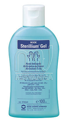 Стериллиум® гель (Sterillium® Gel) Comfort антисептик для обработки рук 100 мл, фото 2