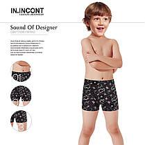 Підліткові стрейчеві шорти на хлопчика Марка «IN.INCONT» Арт.2637, фото 2