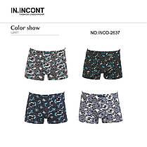 Подростковые стрейчевые шорты на мальчика Марка «IN.INCONT»  Арт.2637, фото 3