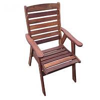 Детское садовое кресло из дерева мербау