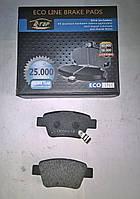 Тормозные колодки задние  Toyota Avensis с 2003 (Т25)