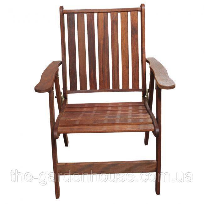 Складное садовое кресло из дерева мербау Палм Бич