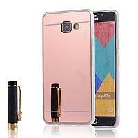 Силиконовый чехол для Samsung Galaxy A5 2016 A510 зеркальный, G922