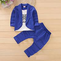 Костюмчик детский пиджак -обманка и штаны для мальчика