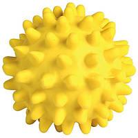 Мяч Trixie Flashing Hedgehog для собак латекс, с шипами, 7 см, фото 1