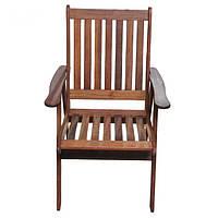 Кресло садовое Раффлес из массива мербау