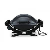 Электрический барбекю-гриль Weber Q-1400, темно-серый