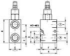 Гидрораспределительный клапан Walvoil (Валвоил) (100 л/мин), фото 7