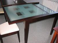 Стеклянный стол Сандра