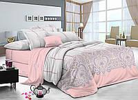 Семейный комплект постельного белья сатин (7794) TM KRISPOL Украина