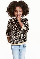 Плюшевый топ H&M для девочки
