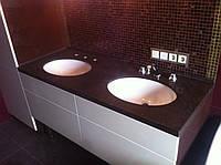 Столешницы для ванной из искуственного камня LG Hi Macs