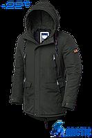 Парка мужская зимняя Braggart Arctic - 1533B хаки