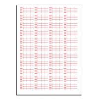 Лейба WWM сервисная для тонерного картриджа (L.LJSRV01) лист 44 шт