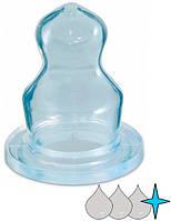 Соска для кашки силиконовая анатомическая для бутылочки (1 шт.), Canpol babies