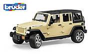 Машинка игрушечная Bruder - джип Wrangler Unlimited Rubicon, М1: 16 (02525)