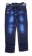 Джинсовые брюки для мальчиков оптом, H.L. Xiang, 110-140 рр., Арт. D236