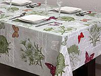 Ткань для скатертей и  столового белья ш.150  Бабочки