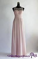Вечернее нарядное длинное платье