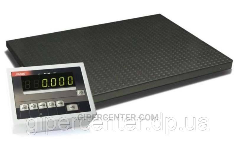 Весы платформенные 4BDU6000-1215 практичные 1250х1500 мм (до 6000 кг)