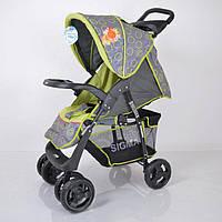Прогулочная детская коляска Sigma S-K-5AF Grey-green