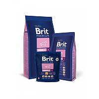 Корм для щенков мелких пород Brit Premium Junior S, 3 кг