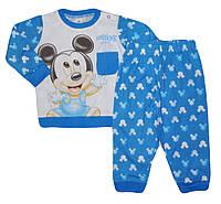 Пижама для мальчиков оптом, DISNEY MICKY , 12-30 мес.,арт.AQE0473