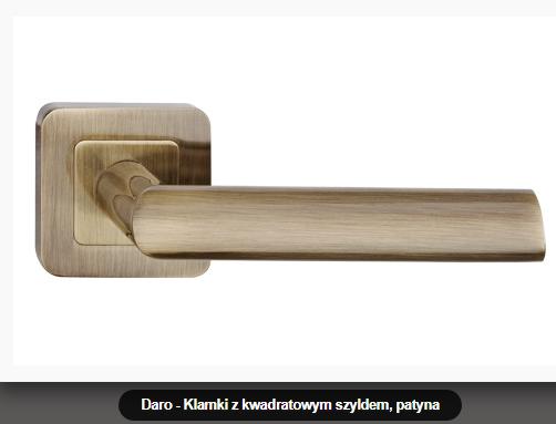 Дверная ручка   Metal-bud Daro бронза